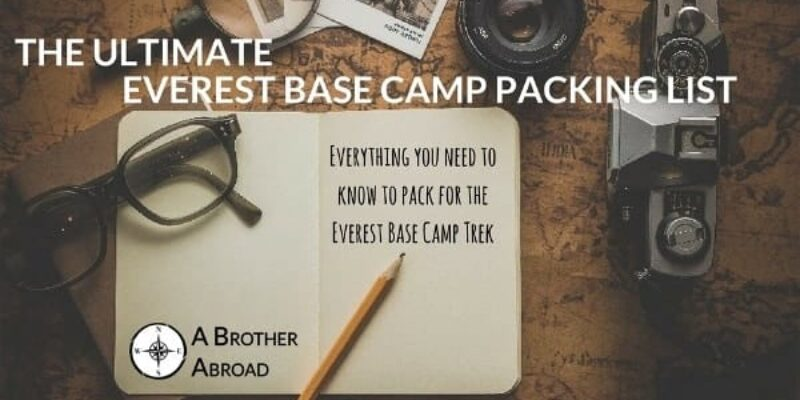 The Ultimate Everest Base Camp Packing List