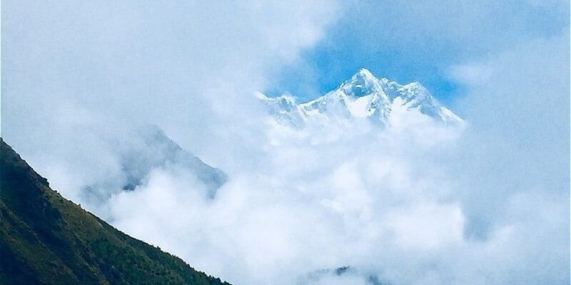 Pt 4: A View of Everest and a Rest Day in Namche Bazar on the Everest Base Camp Hike