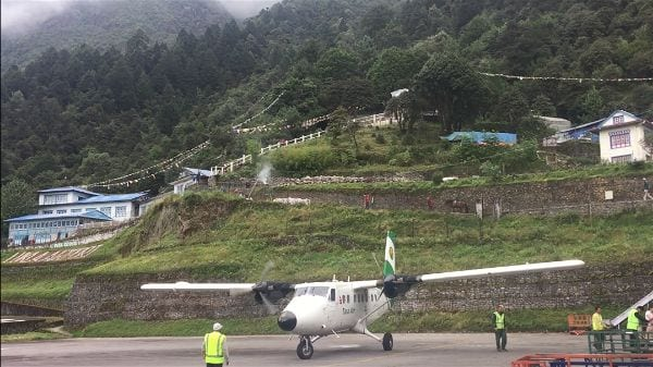 All aircraft flying into Lukla are specially designed for short takeoff and landing scenarios