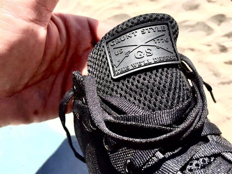 Grunt Style Branding on the Low Tide Raid Shoe