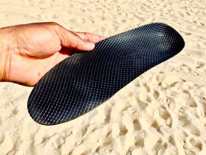 The Grunt Style Low Tide Raid Shoe's EVA Rubber Insole doesn't absorb water or moisture making these shoes quick drying and perfect for playing in the water
