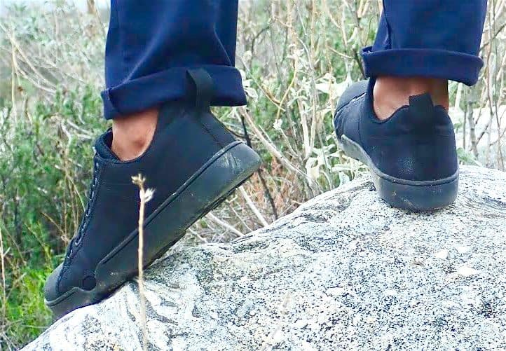 Rear view of the Grunt Style Low Tide Raid Shoes - the best men's travel, durable and stylish