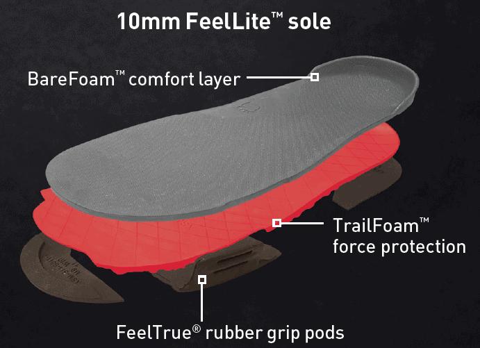 Z-Trail Feel True Soles