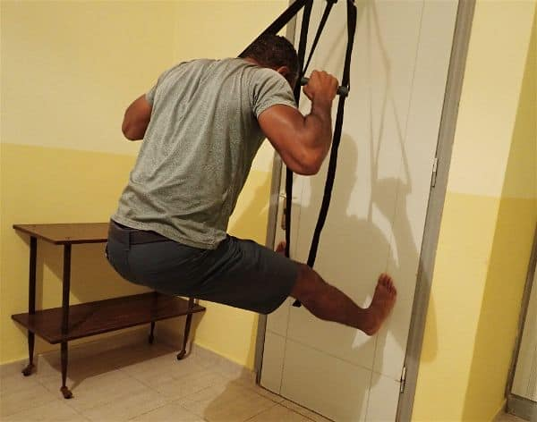 DIY TRX and DIY TRX Door Anchor for Hotel Room Workot