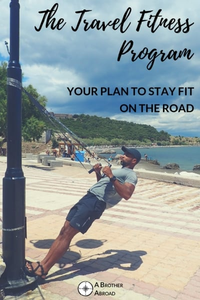 The Travel Fitness Program for staying fit while traveling exercises to do without a gym