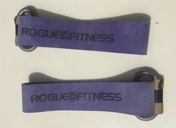 Rogue Bands with handles provide enough resistance (280lbs) for great mini band exercises for legs