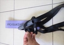 Combining Rogue Monster Bands with a suspension trainer for proper resistance band squats (part 4)