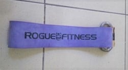 Rogue Fitness Bands with a carabiner handle