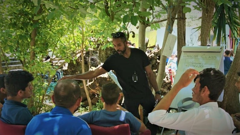 Teaching English to Refugees in Lesvos Greece as a Global Volunteer
