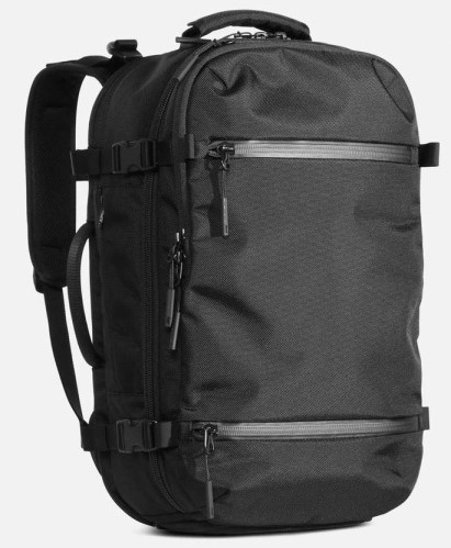 The Aer Travel Pack 2 - an excellent Travel Backpack Carry On on the smaller side - urban travel backpack