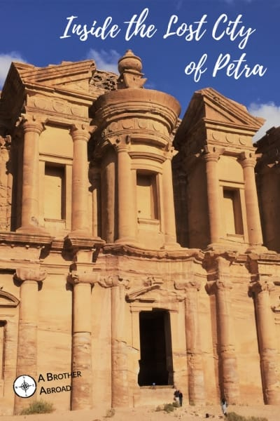 Go inside Petra to discover the stone temple ruins of the ancient Bedouin kingdom on your own self guided tour of Petra