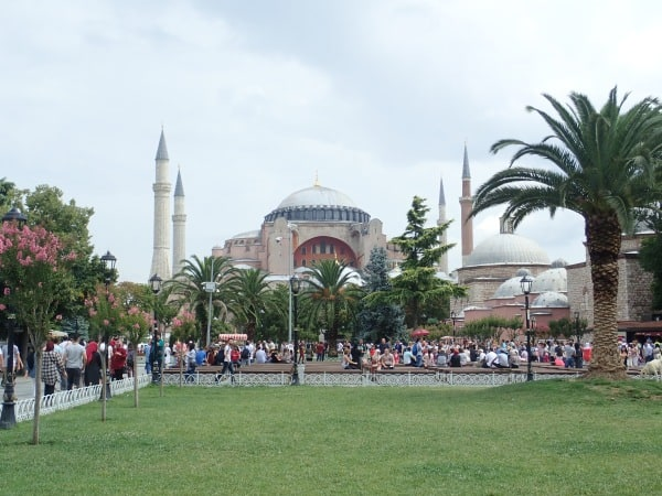 Istanbul, Turkey's Hagia Sophia Church