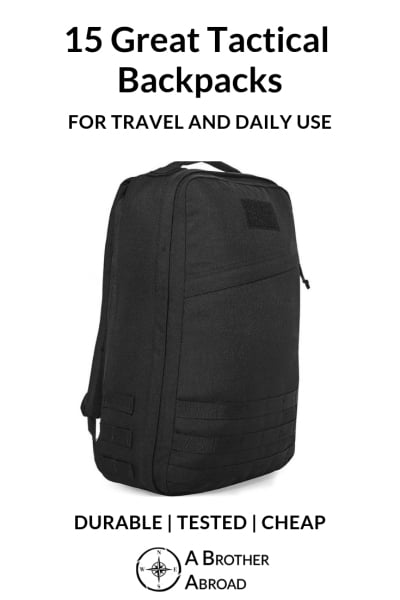 6d9152ced07d The Best Tactical Backpacks for Travel and Everyday Use
