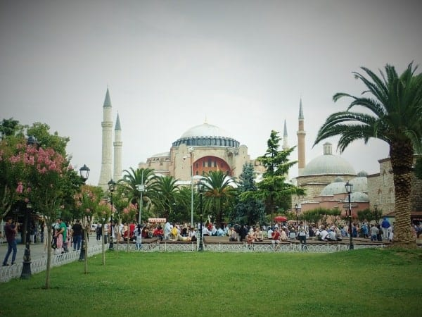 Hagia Sofia in Istanbul - Backpacking Turkey