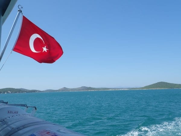 Backpacking Turkey - A Journey from Lesvos Greece to Istanbul Turkey