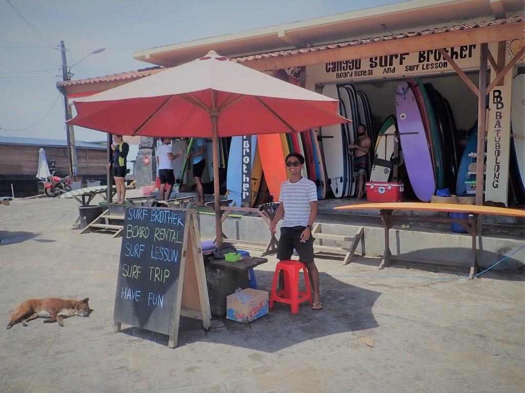 Surf Lessons Canggu | ABrotherAbroad.com