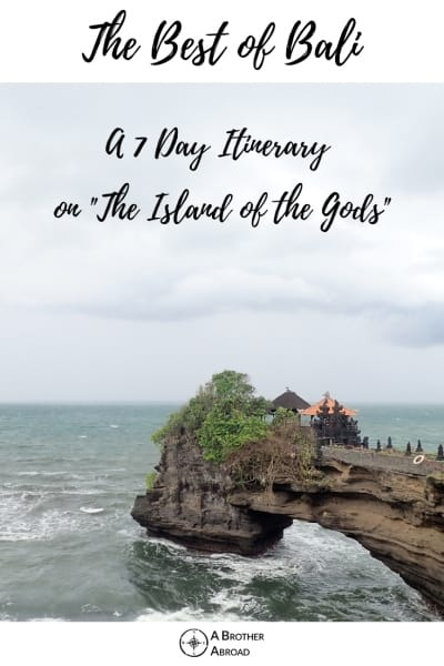 "The Best of Bali Itinerary: 7 Days of Solo Travel, Fun, and Adventure on the ""Island of the Gods"""