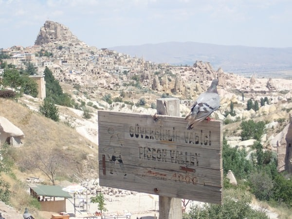 Pigeon Valley on the Cappadocia Green Tour | Backpacking Turkey
