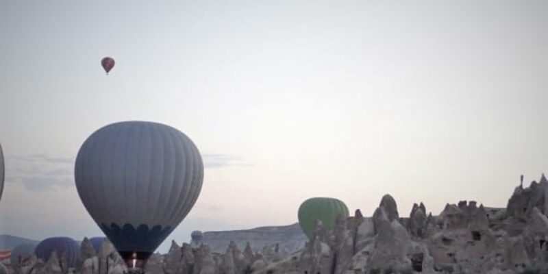 Hot Air Balloons and the Cappadocia Green Tour   Backpacking Turkey (Part 5)