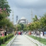 The Blue Mosque - Sultan Ahmet Mosqe - Istanbul | Backpacking Turkey