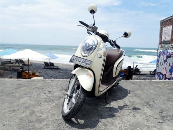 Rent a Scooter to explore Bali