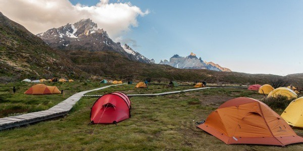Torres del Paine Campsites and Refugios