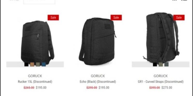 The Ultimate GORUCK Coupon Code, Discount, and Sale Guide [2020 Updated]