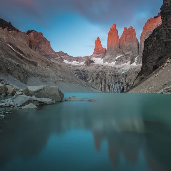 Torres del Paine W Trek Itinerary Distances Costs Transportation | www.ABrotherAbroad.com