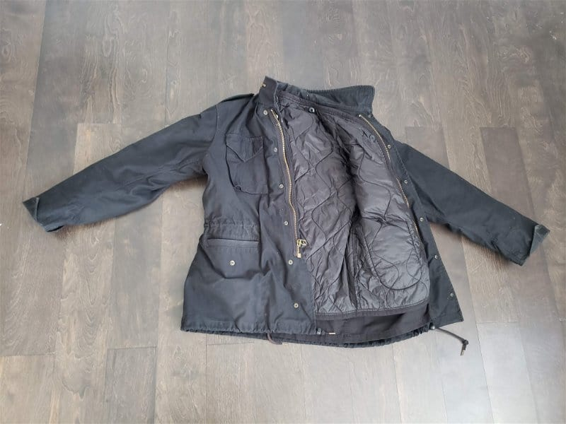 Bluffworks Field Jacket Review Updated from the Original M-65 Field Jacket Black and including an M-65 Field Jacket Liner