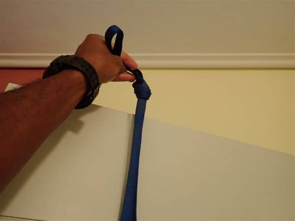 DIY Gymnastics rings aleternative at home Door Anchor Strength and Muscle Building Workout, compared to TRX and weights