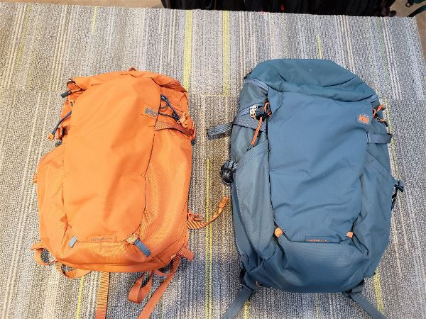 REI Ruckpack 18 vs. Ruckpack 28