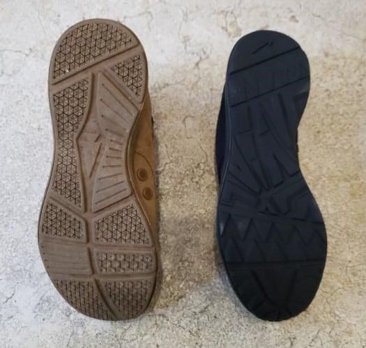 GORUCK MACV-1 sole vs. GORUCK IO Cross Trainer Sole