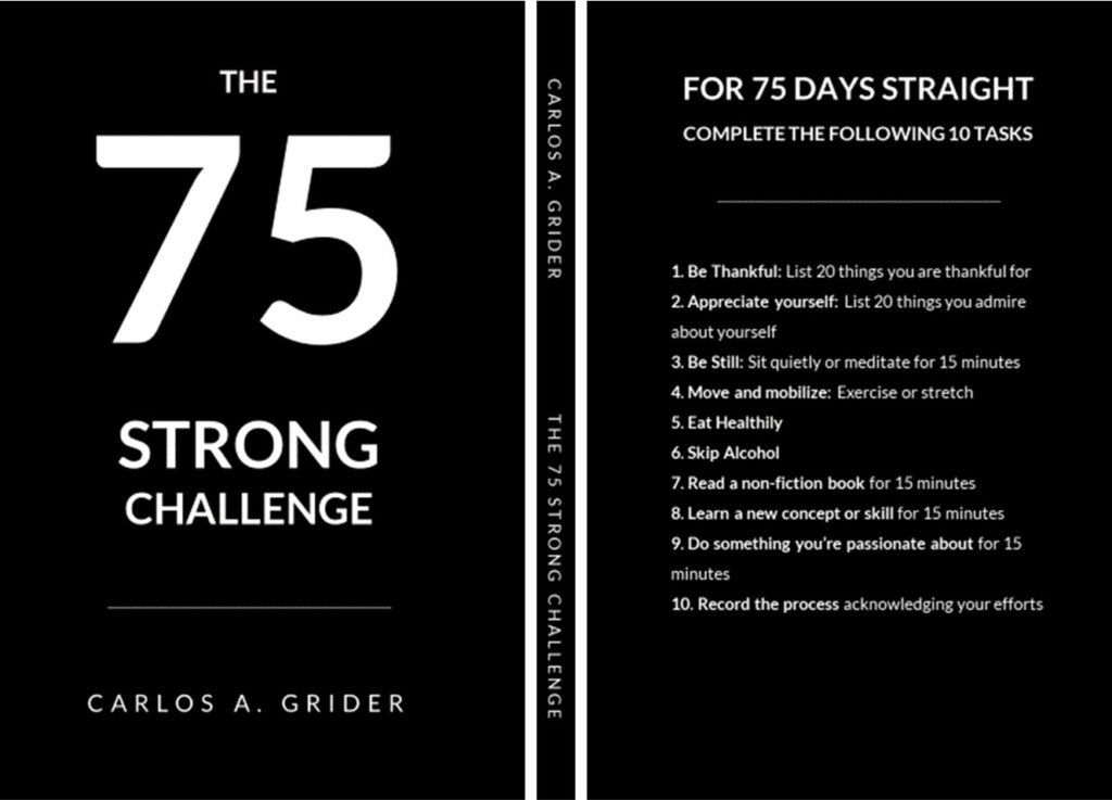 The 75 Hard Book upgraded | 75 Strong